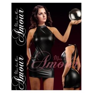 SALE! Erotic vinyl dress