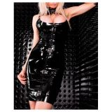 Потрясающее виниловое платье по оптовой цене
