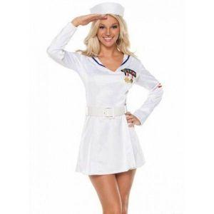 Snow-white sailor-suit