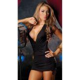 Сексуальное клубное платье с откровенным вырезом декольте по оптовой цене