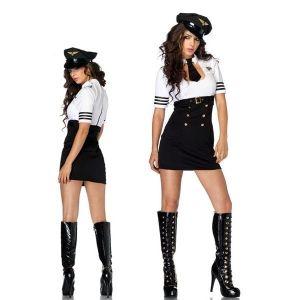 РАСПРОДАЖА! Сексуальный костюм женщины пилота