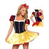 A Snow white costume with podobnikar