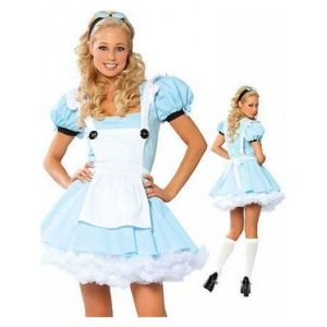 Maid costume blue. Артикул: IXI16877