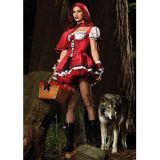 Costume - little Red riding hood with lush podobnikar