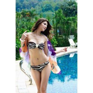 Swimsuit - Zebra without straps. Артикул: IXI17162