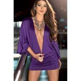 РАСПРОДАЖА! Легкое фиолетовое платье по оптовой цене