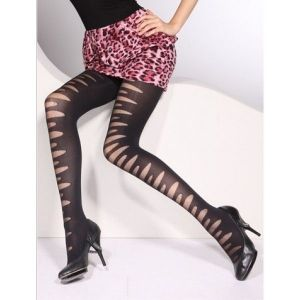 Spectacular tights with sheer panels. Артикул: IXI17597