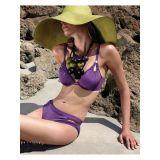 Аппетитный фиолетовый купальник
