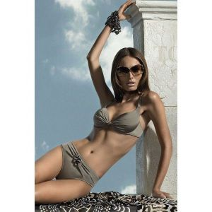 SALE! Luxury swimsuit with a bodice bandeau