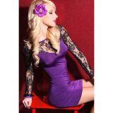 Фиолетовое платье по оптовой цене