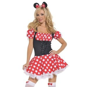 A Mickey Mouse Costume