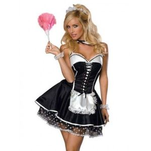 Carnival costume French maid