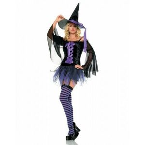 Carnival costume Elegant witch