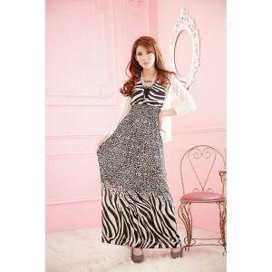 Light summer dress Zebra. Артикул: IXI17951