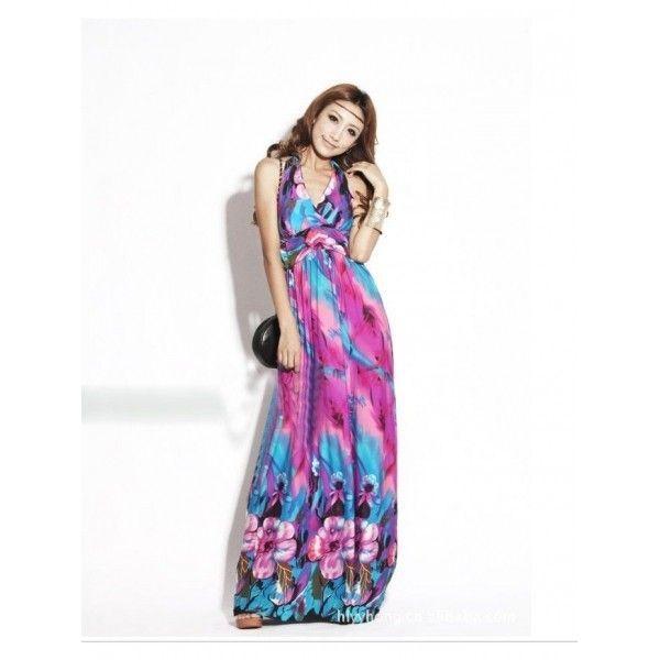 Гламурное длиное платье