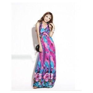 Гламурное длиное платье - Сарафаны