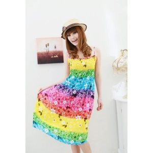 Bright summer dress . Артикул: IXI17963