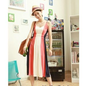 Summer dress in retro styles . Артикул: IXI17973