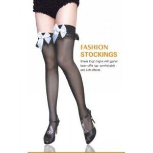Stockings Maid French lace ruffles