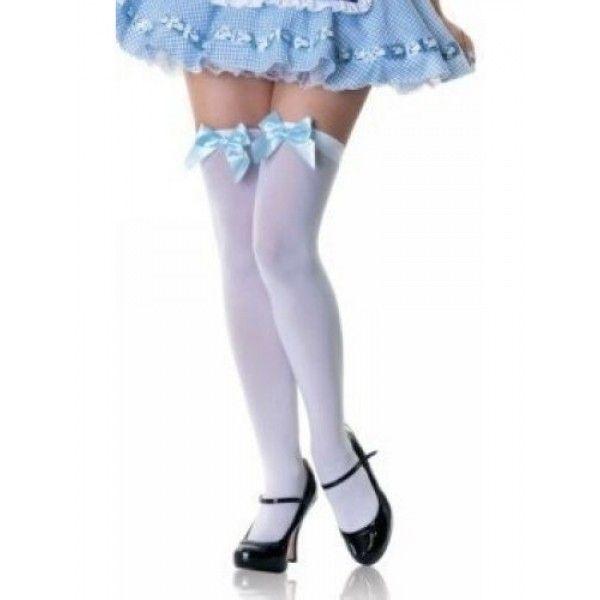 Купить онлайн Белые носочки с бантиком фото цена акция распродажа
