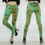 Зеленые леггинсы