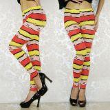 Leggings striped