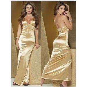 Сексуальное золотистое платье. - Вечерние платья