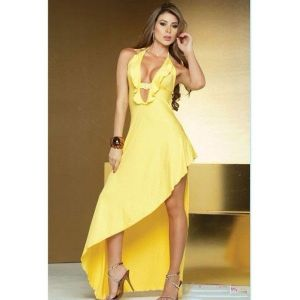 Yellow dress Temptation.