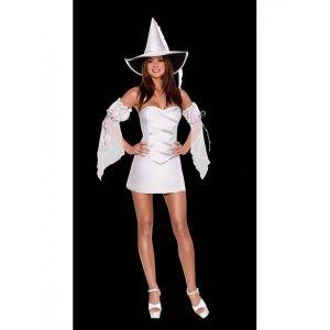 Белый карнавальный костюм Ведьма.