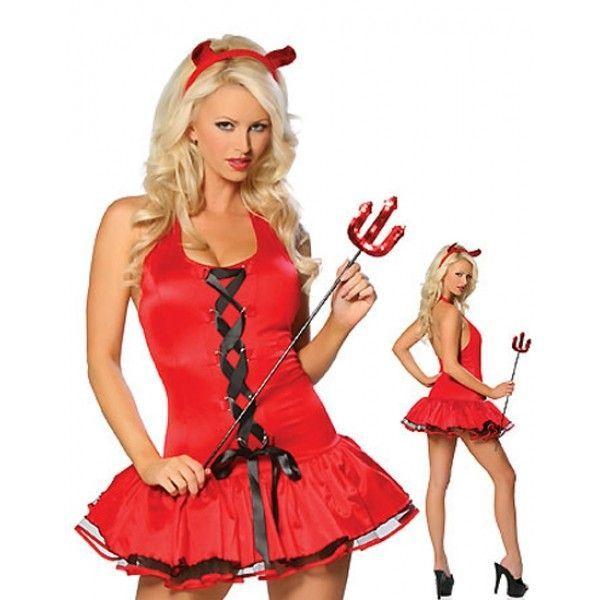 Маскарадный костюм Сексуальная дьяволица.