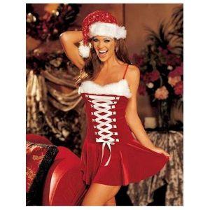 Карнавальный костюм рождественской тематики.
