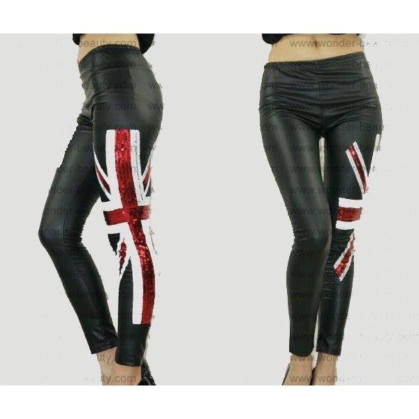 РАСПРОДАЖА! Леггинсы с флагом Британии.
