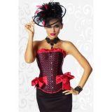 Luxury polka dot corset with bow