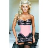 Sexy set of corset with skirt