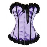 Purple Burlesque corset