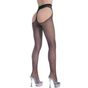 Erotic pantyhose crotchless