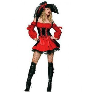 Carnival costume pirate Storm seas