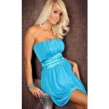 Голубое, сксуальное плаьтье-бандо по оптовой цене