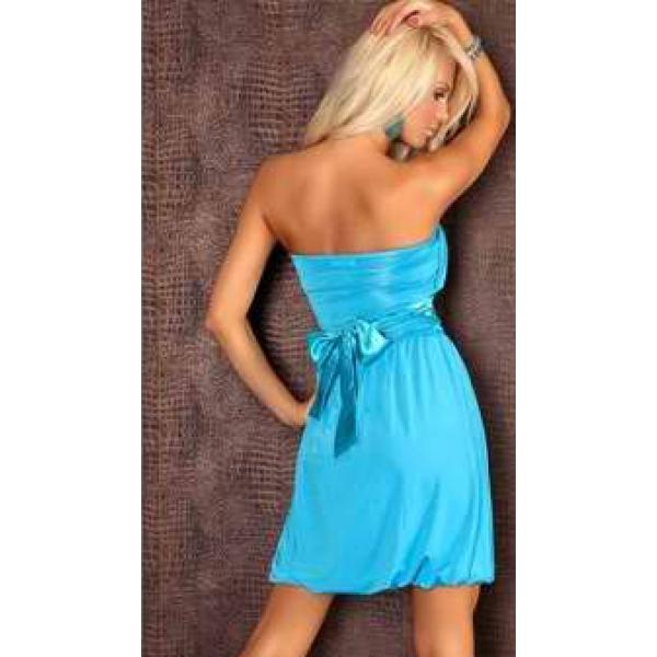 Blue, seksualnoe, plate bandeau. Артикул: IXI20027