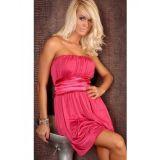 Розовое, сксуальное плаьтье-бандо по оптовой цене