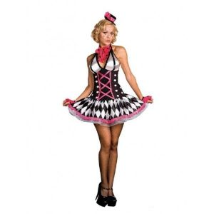 Carnival costume Slutty clown