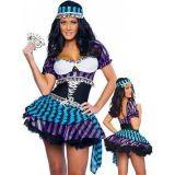 Sexy costume Queen of poker