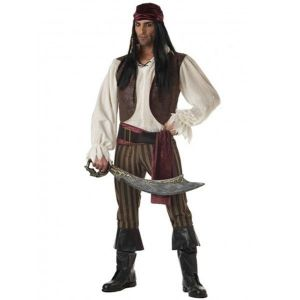 Mens Pirate costume of the middle ages