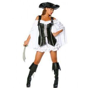 Pirate costume (4 pieces)
