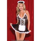 Underwear set in the style of a French maid