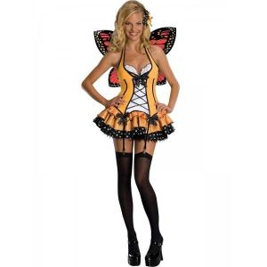 Costume, solar powered butterfly