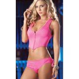Сексуальный розовый костюм по оптовой цене