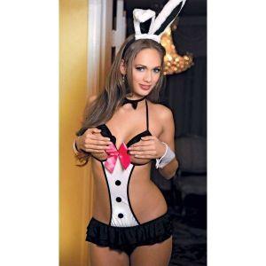 Эротический костюм милого зайчика