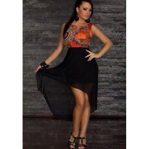 Easy romantic dress Orange. Артикул: IXI20521