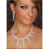 Sparkling kit original necklace and earrings
